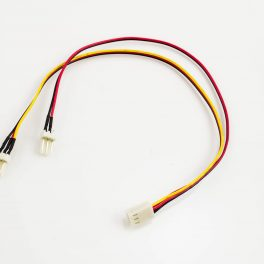 Fan Power Y-Cable 3p Female to 2 x 3p Male