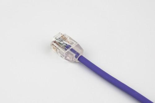 CAT6 28AWG Cable – FlexMini™ UTP LSZH Purple