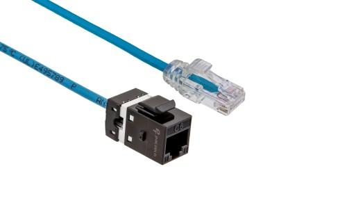 FlexLite Cat6 UTP LSZH Plug - Blue