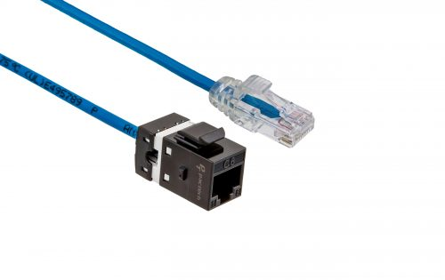 FlexLite Cat6 UTP LSZH Plug - Dark Blue