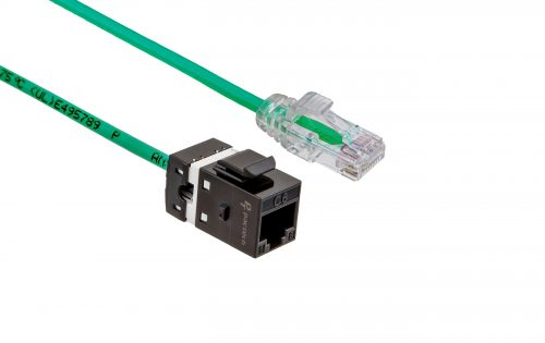 FlexLite Cat6 UTP LSZH Plug - Green