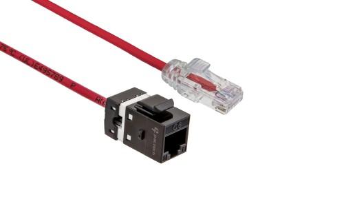 FlexLite Cat6 UTP LSZH Plug - Red