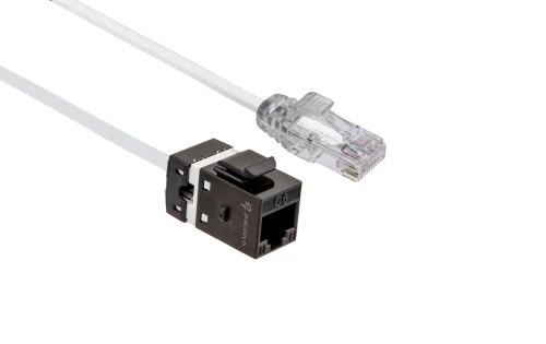 FlexLite Cat6 UTP LSZH Plug - White