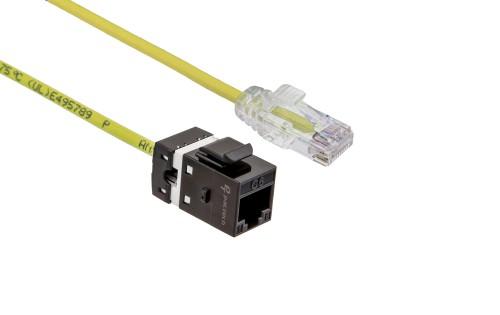 FlexLite Cat6 UTP LSZH Plug - Yellow